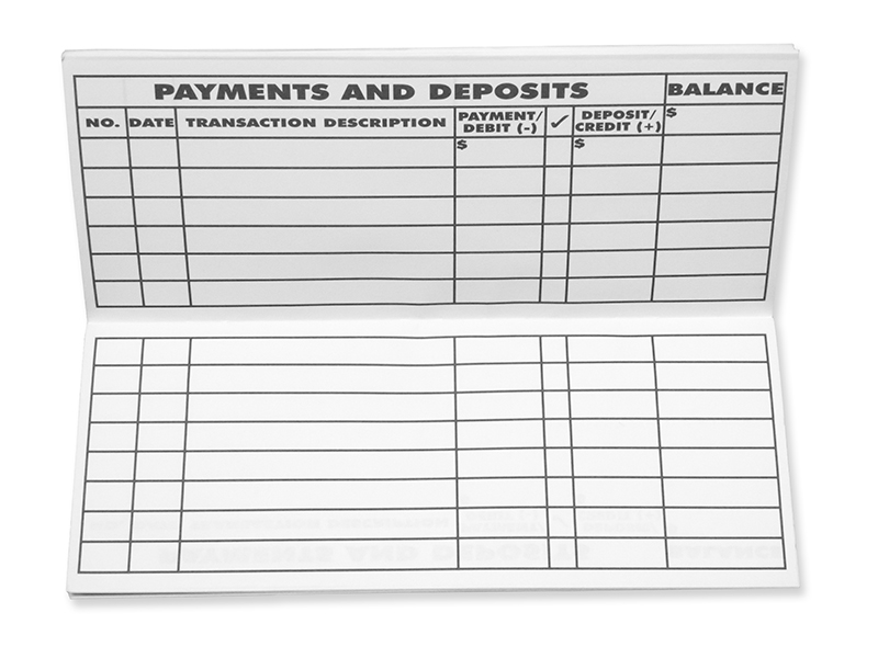 Checkbook Register Checkbook Register Template In Excel Printable