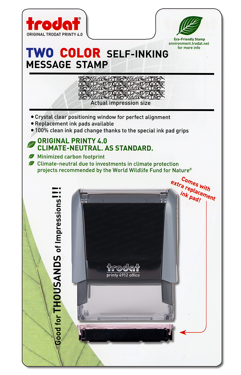 Pre-Packaged Security Stamp