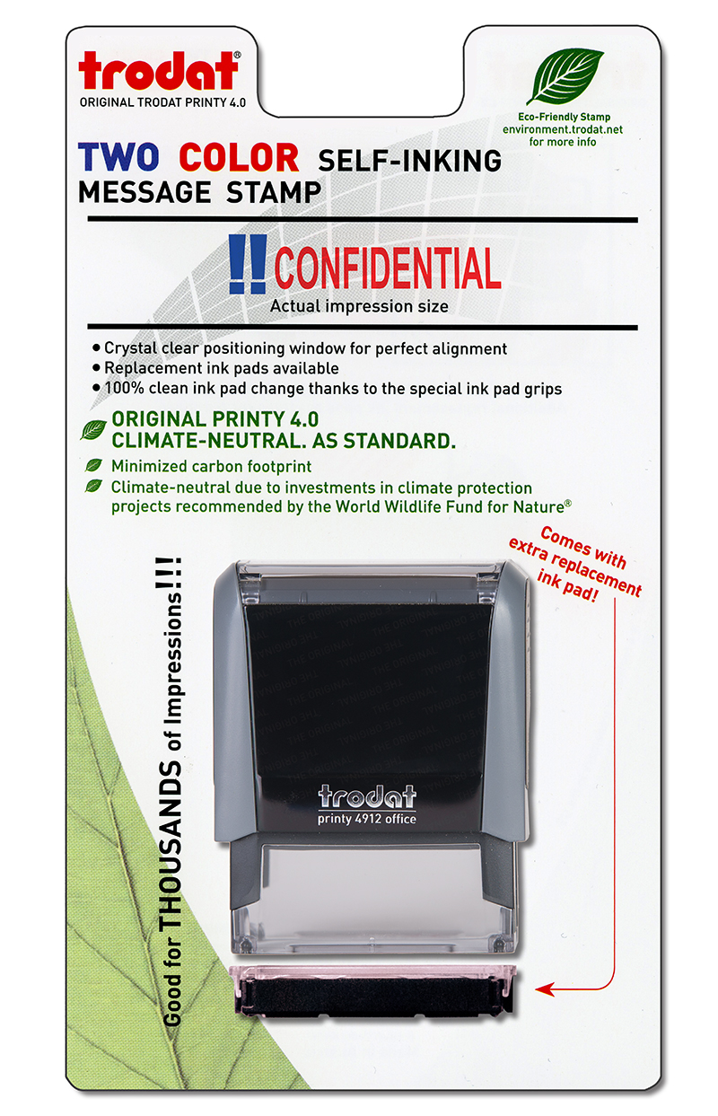 ''Confidential'' Message Stamp