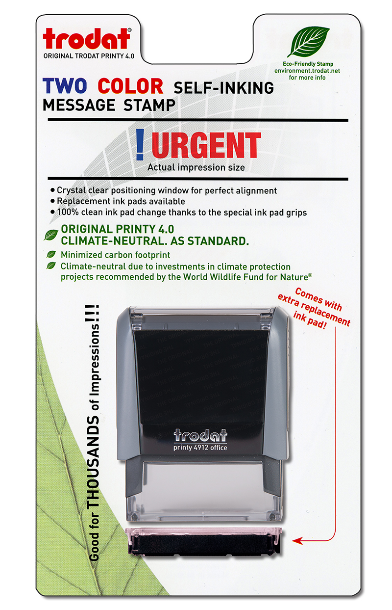 ''Urgent'' Message Stamp