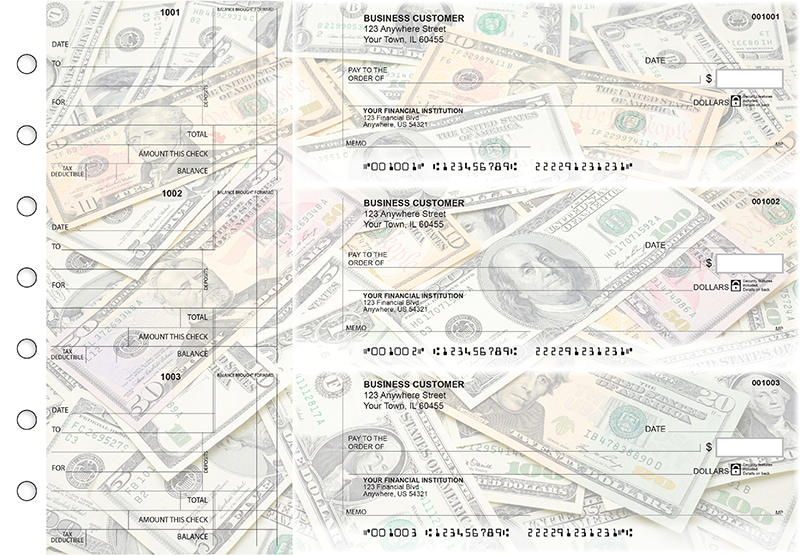 Money Standard Counter Signature Business Checks