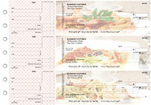 Italian Cuisine Itemized Counter Signature Business Checks