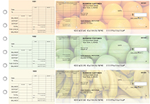 Fruit General Itemized Invoice Business Checks