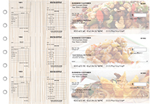 Chinese Cuisine Multi-Purpose Salary Voucher Business Checks