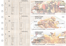 Chinese Cuisine Multi-Purpose Counter Signature Business Checks