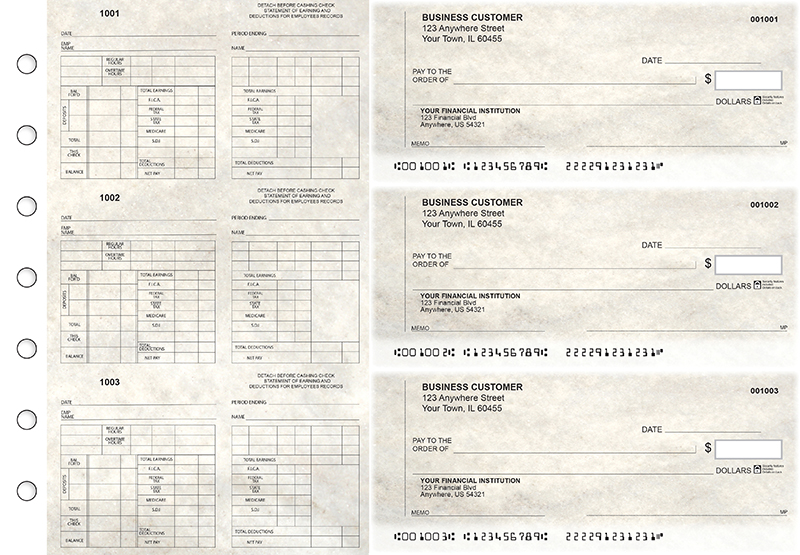 Granite Multi-Purpose Counter Signature Business Checks