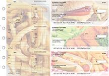 American Cuisine Dual Purpose Voucher Business Checks