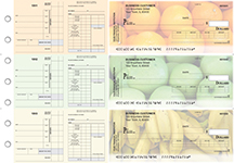 Fruit Payroll Invoice Business Checks