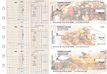 Chinese Cuisine Payroll Invoice Business Checks