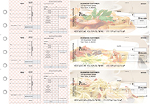 Italian Cuisine Payroll Invoice Business Checks
