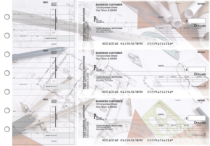 Architect Invoice Business Checks