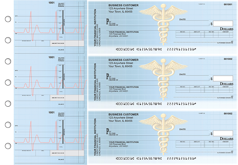 Medical Invoice Business Checks