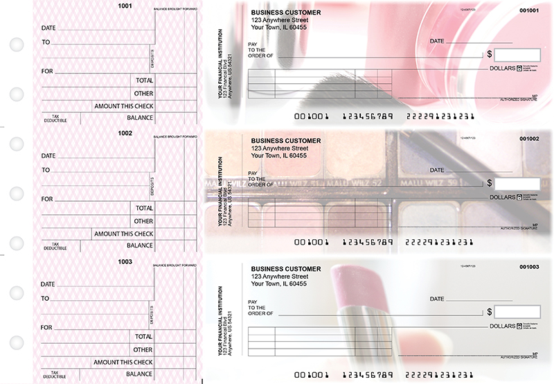 Makeup Standard Invoice Business Checks