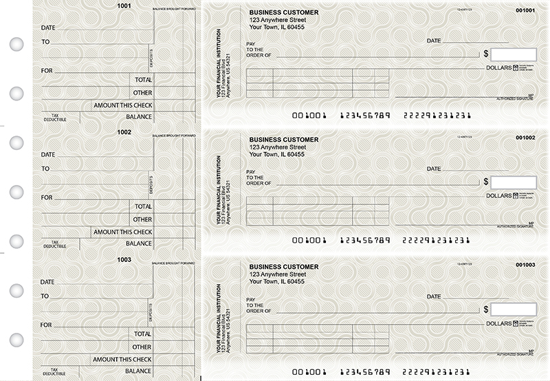 Circuit Standard Invoice Business Checks
