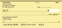 Yellow Safety Personal Checks
