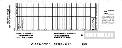 Standard Deposit Book Style 25