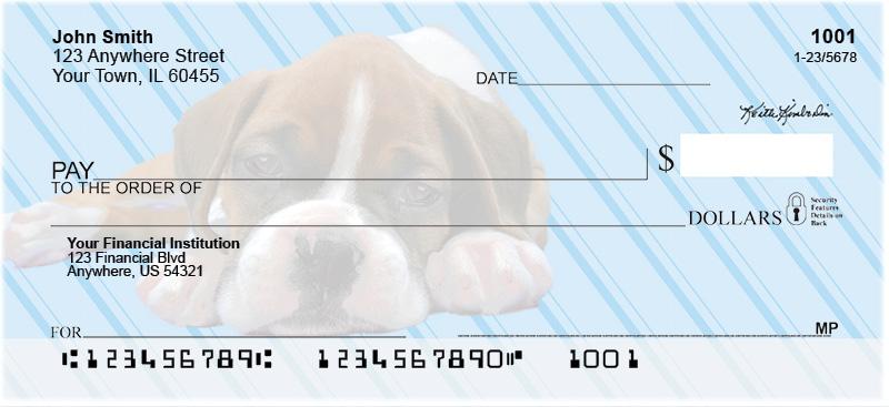 Keith Kimberlin Boxer Pups Personal Checks