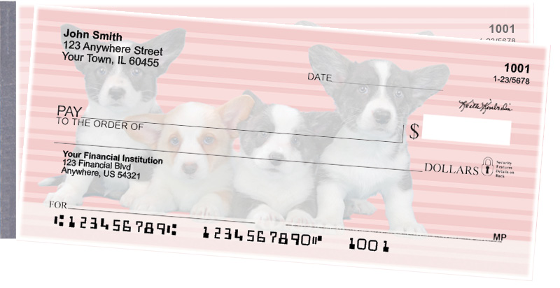 Corgi Pups Keith Kimberlin Side Tear Checks