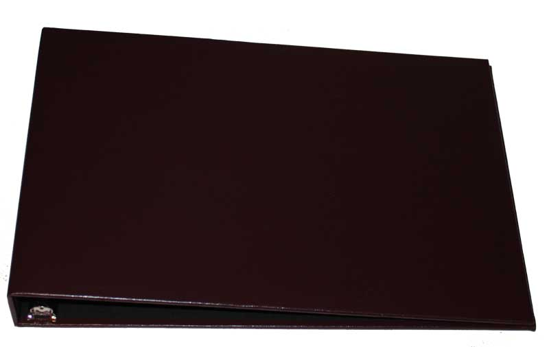 Burgundy Business 7 Ring Binder