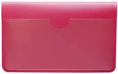 Hot_Pink_Vinyl_Debit_Card_Cover