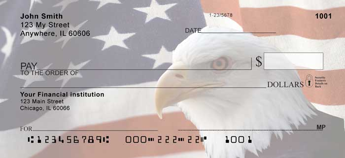 Soaring Over America Personal Checks