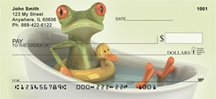 Funky Frogs Personal Checks