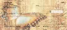 Rustic Butterflies Personal Checks