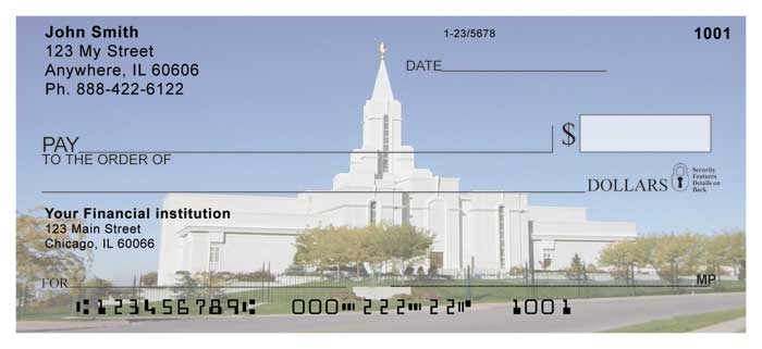 The Bountiful Temple Personal Checks