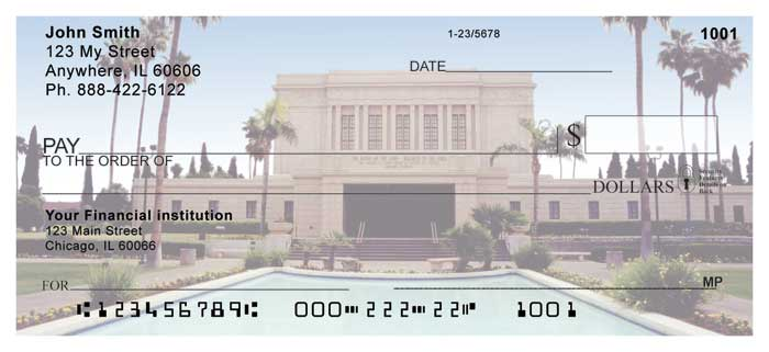 Mesa Temple Personal Checks
