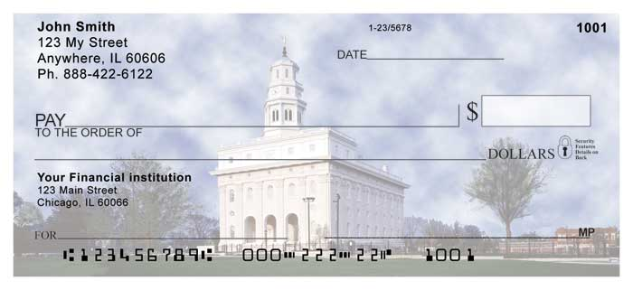 Nauvoo Temple Personal Checks