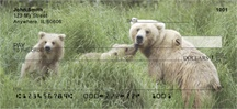Brown Bear Cubs Personal Checks