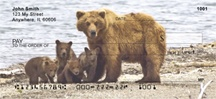 Brown Bears Personal Checks