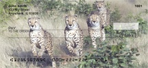 Cheeky Cheetahs Personal Checks