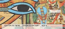 Egyptian Papyrus Personal Checks