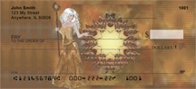 Golden Fairies Personal Checks