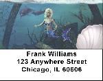 Mystical Mermaids Address Labels