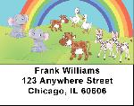 Noahs Rainbows Address Labels