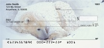 Precious Polar Bear Cubs Personal Checks
