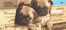 Pug Mugs Personal Checks