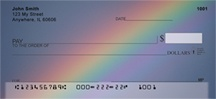 Rainbows Personal Checks