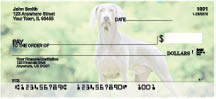 Weimariner Dog Personal Checks