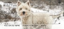 West Highland Terrier Custom Checks
