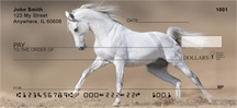 White Stallions Personal Checks