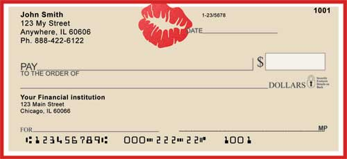 kiss personal checks