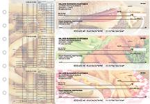 American Cuisine Multi Purpose Designer Business Checks