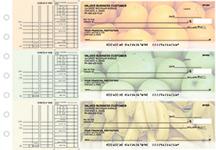 Fruit Multi Purpose Designer Business Checks