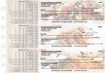 Chinese Cuisine Multi Purpose Designer Business Checks