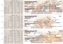 Chinese Cuisine Payroll Designer Business Checks
