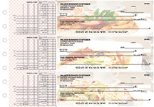 Italian Cuisine Multi Purpose Designer Business Checks