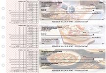 Pizza Multi Purpose Designer Business Checks